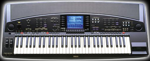 Yamaha psr 8000 пришел на смену модели psr